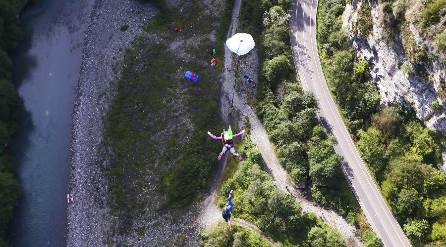Skypark BASE days 2017 ©Фото пресс-службы парка приключений на высоте «Скайпарк Эй Джей Хаккетт Сочи»