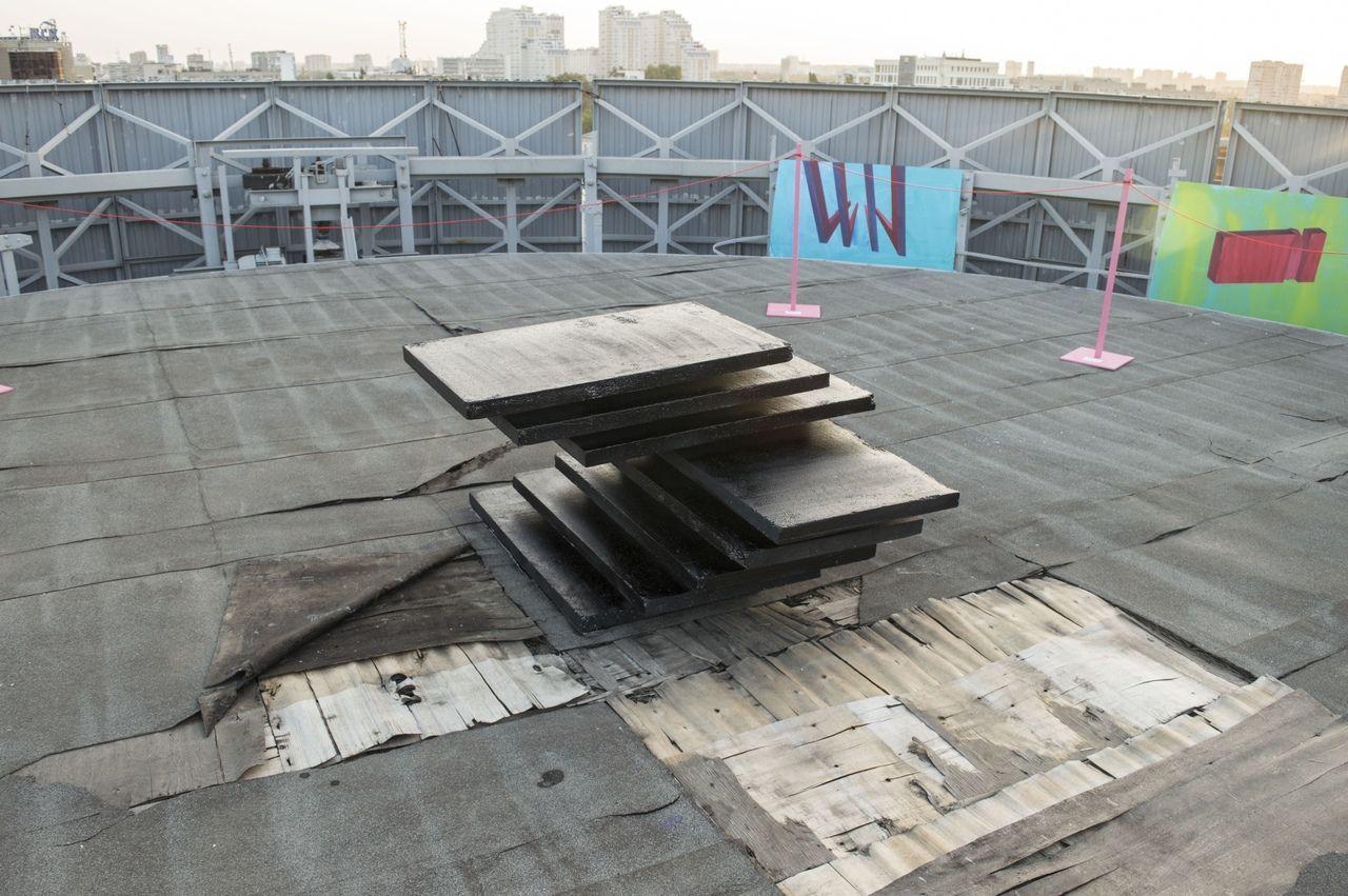 Выставка #4 в галерее на Шуховской башне ©Фото предоставлено арт-группой «Кюс»