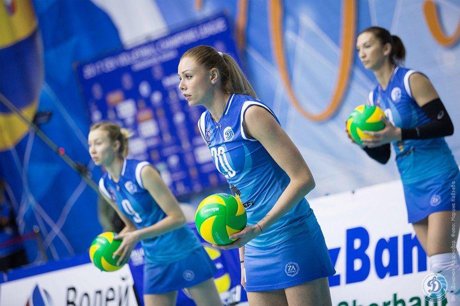 Волейболистки московского «Динамо» обыграли краснодарский одноименный клуб вматчеЛЧ