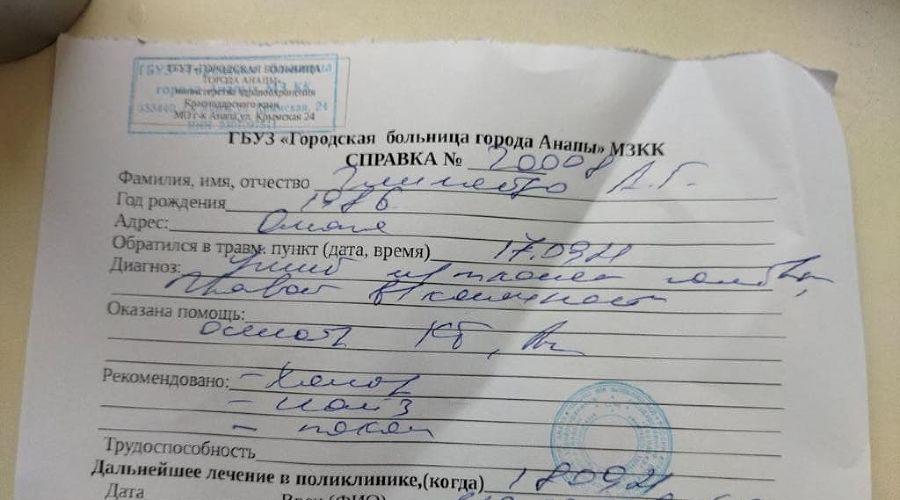 В Анапе напали на двух представителей КПРФ