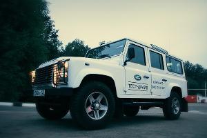 "Поездка по маршруту ""Краснодар — предгорье Кавказа"" на автомобиле Land Rover Defender ©Фото Юга.ру"