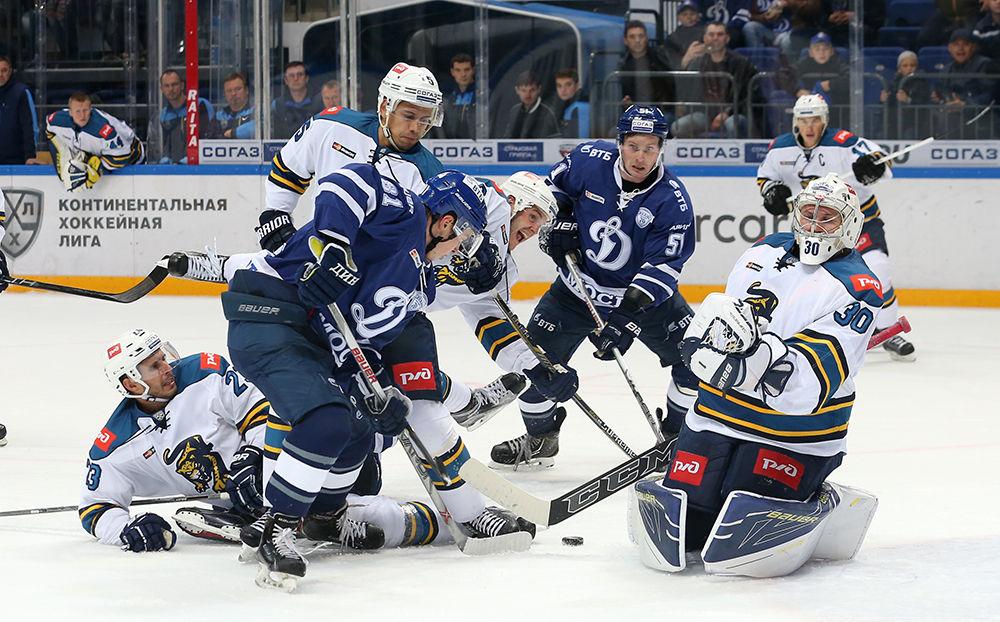 «Сочи» обыграл столичное «Динамо» ипрервал серию поражений вКХЛ
