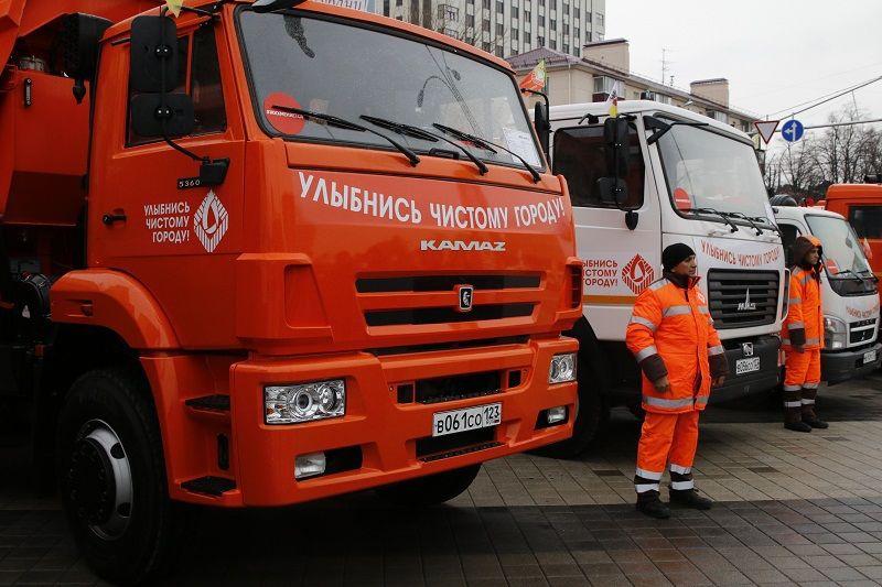ВКраснодаре дороги обработали противогололедной смесью