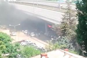 ©Кадр из видео со странице «ЧП и ДТП Краснодар и край» в инстаграме, instagram.com/krddtp