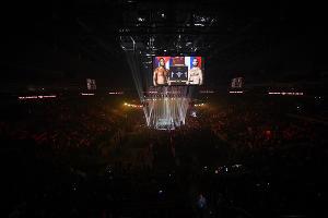 Полуфинальный поединок Всемирной суперсерии бокса Гассиев-Дортикос в Сочи ©Фото Юга.ру
