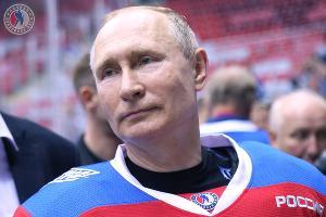 Владимир Путин ©Фото пресс-службы Ночной хоккейной лиги
