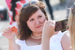 """Краснодар принял участие в акции """"Всероссийское застолье"""" ©Фото Юга.ру"""