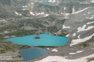 Озеро Безмолвия (Большое Имеретинское) ©Фото из архива экспедиции, предоставил Юрий Кашин