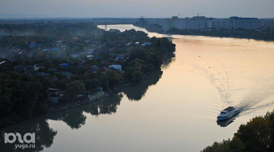 Река Кубань в Краснодаре ©Фото Елены Синеок, Юга.ру