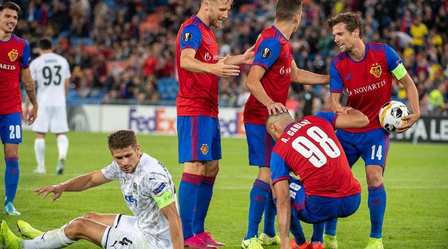 Матч 1-го тура группового этапа Лиги Европы «Базель» — «Краснодар» ©Фото пресс-службы ФК «Базель»