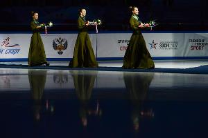 III Всемирные зимние военные игры. Соревнования по шорт-треку ©Фото Никиты Быкова, Юга.ру