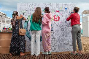 Garnier и «Пятёрочка» открыли в Анапе первый экопляж ©Фото Дмитрия Пославского, Юга.ру