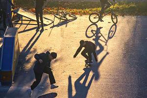 Виктория Сысоева «Утренняя тренировка» ©Фото предоставлено фотоклубом «Лагонаки»