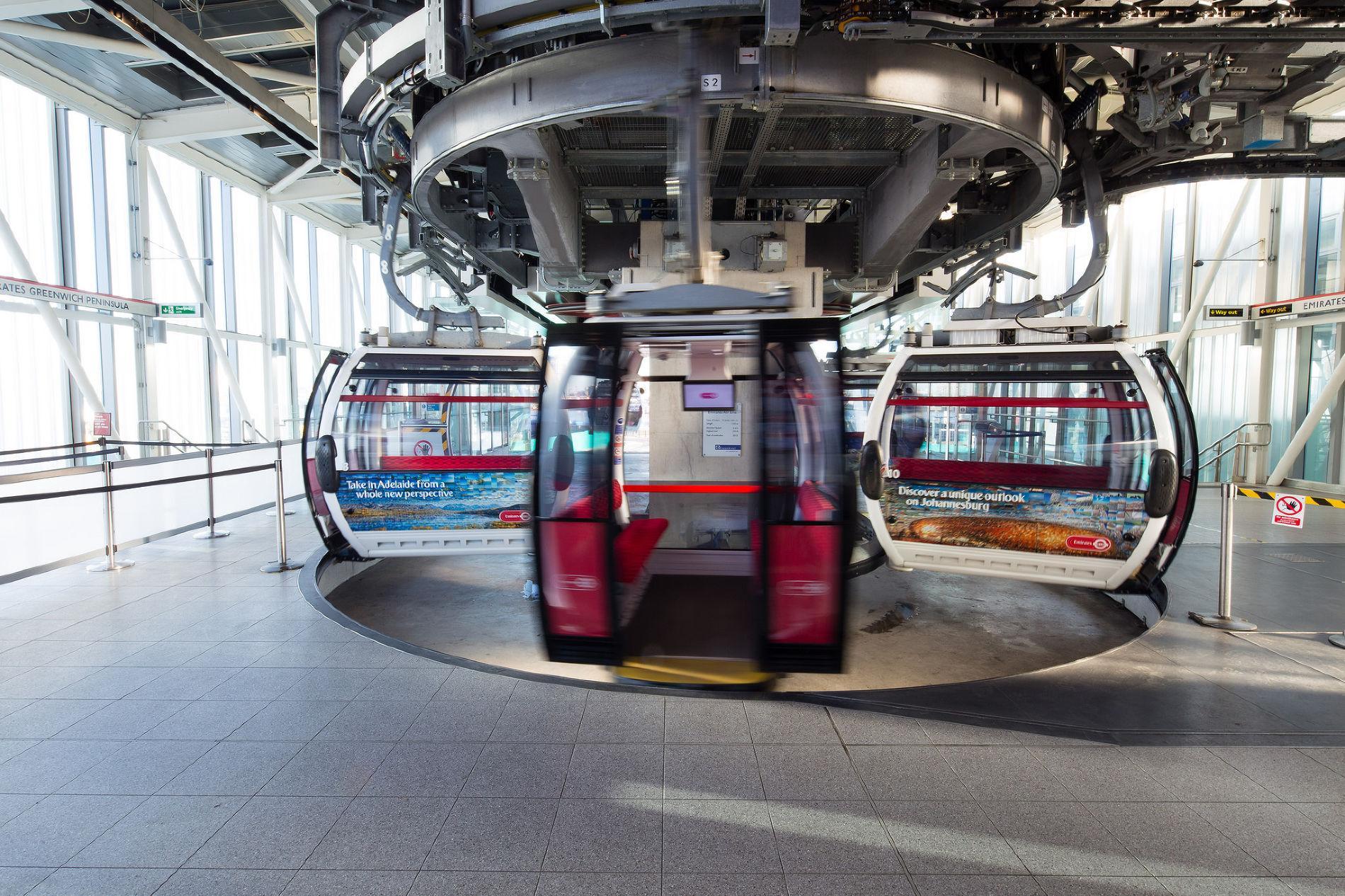 Канатная дорога ©Фото пресс-службы Transport for London