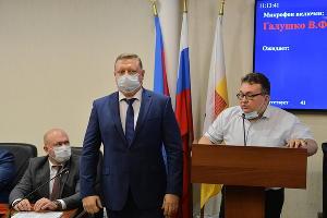 Станислав Харьковский (по центру) ©Фото Александра Райко, предоставлено пресс-службой администрации Краснодара