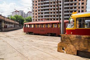 Мастерские по ремонту трамваев и троллейбусов КТТУ ©Фото Сергея Долгополова