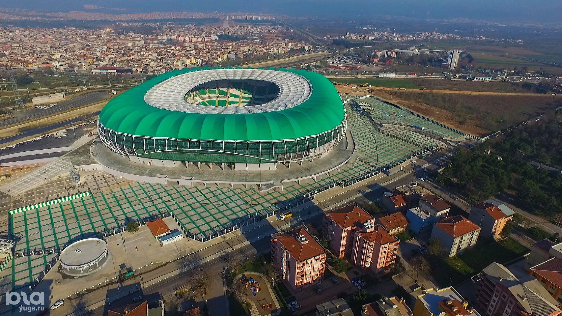 Тимсах Арена ©фото с сайта stadiumdb.com
