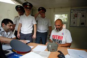 Задержание оппозиционеров в День России ©Влад Александров. ЮГА.ру