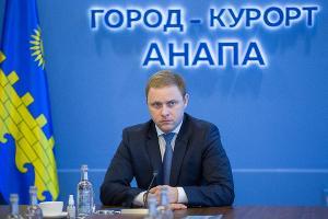 Василий Швец ©Изображение пресс-службы мэрии Анапы