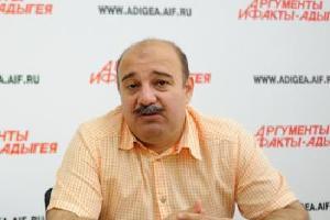 Председатель Союза журналистов Адыгеи Абрек Бзегежев ©http://ujadyg.ru/
