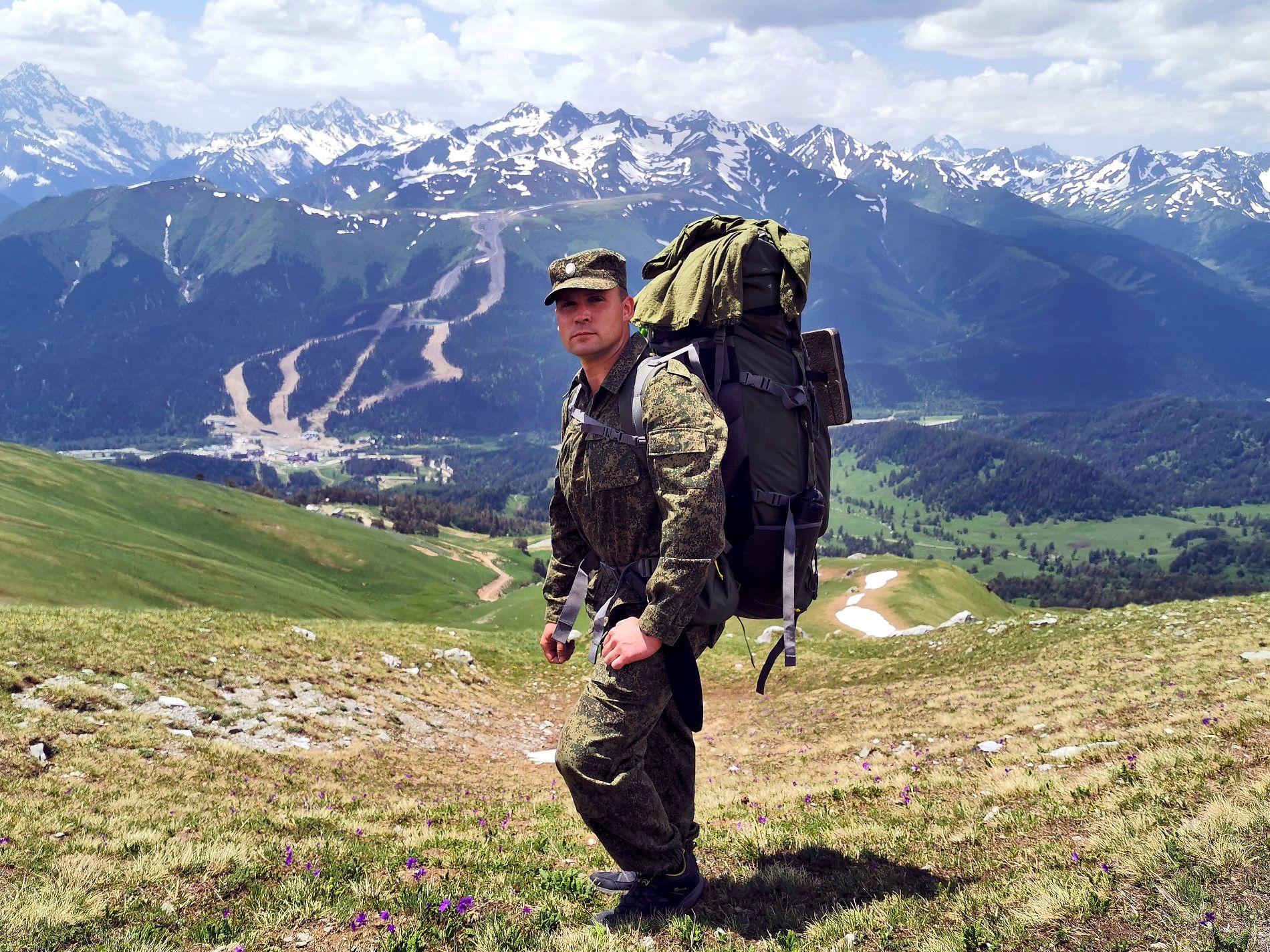 Горные вершины Архыза ©Фото предоставлено Александром Агибаловым