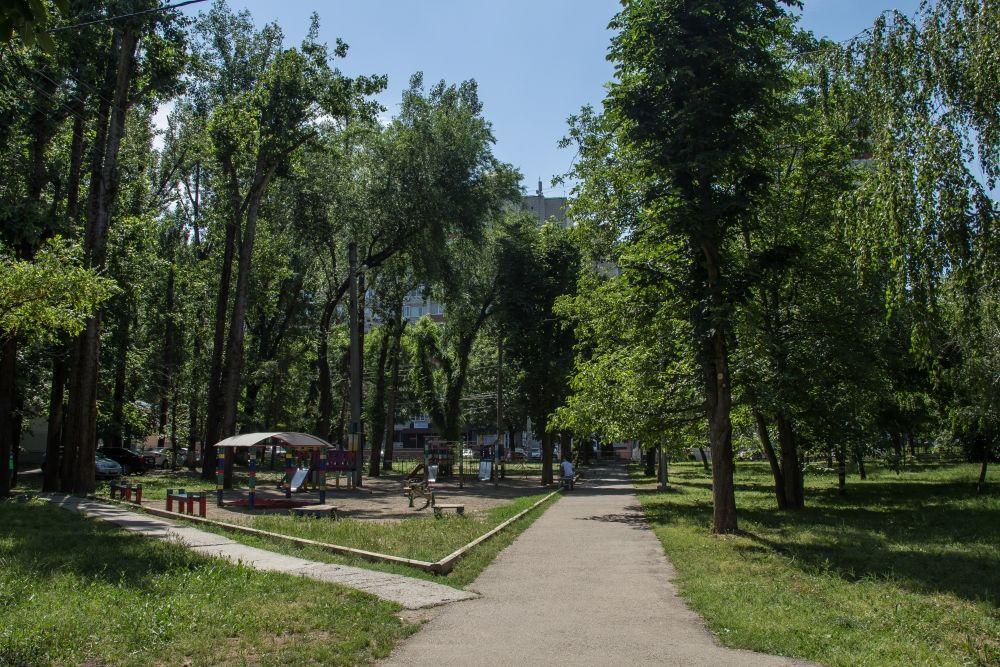 Сквер Пограничников ©Фото пресс-службы администрации Краснодара
