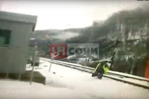 ©Скриншот из видео со страницы vk.com/chpsochi