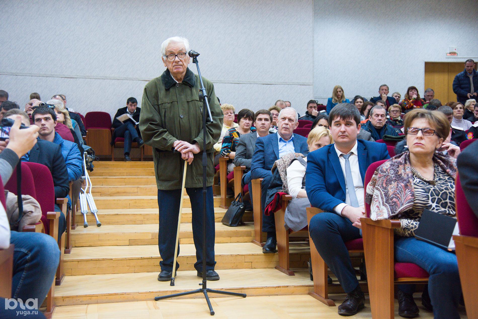 Общественные слушания по генплану Краснодара, ноябрь 2016 года ©Елена Синеок, Юга.ру