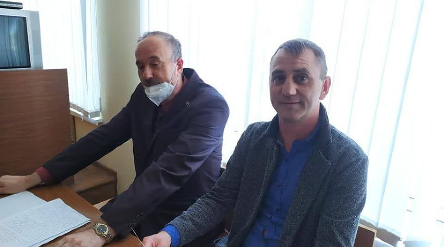 Игорь Хорошилов (справа на фото) ©Фото Елены Колмыковой