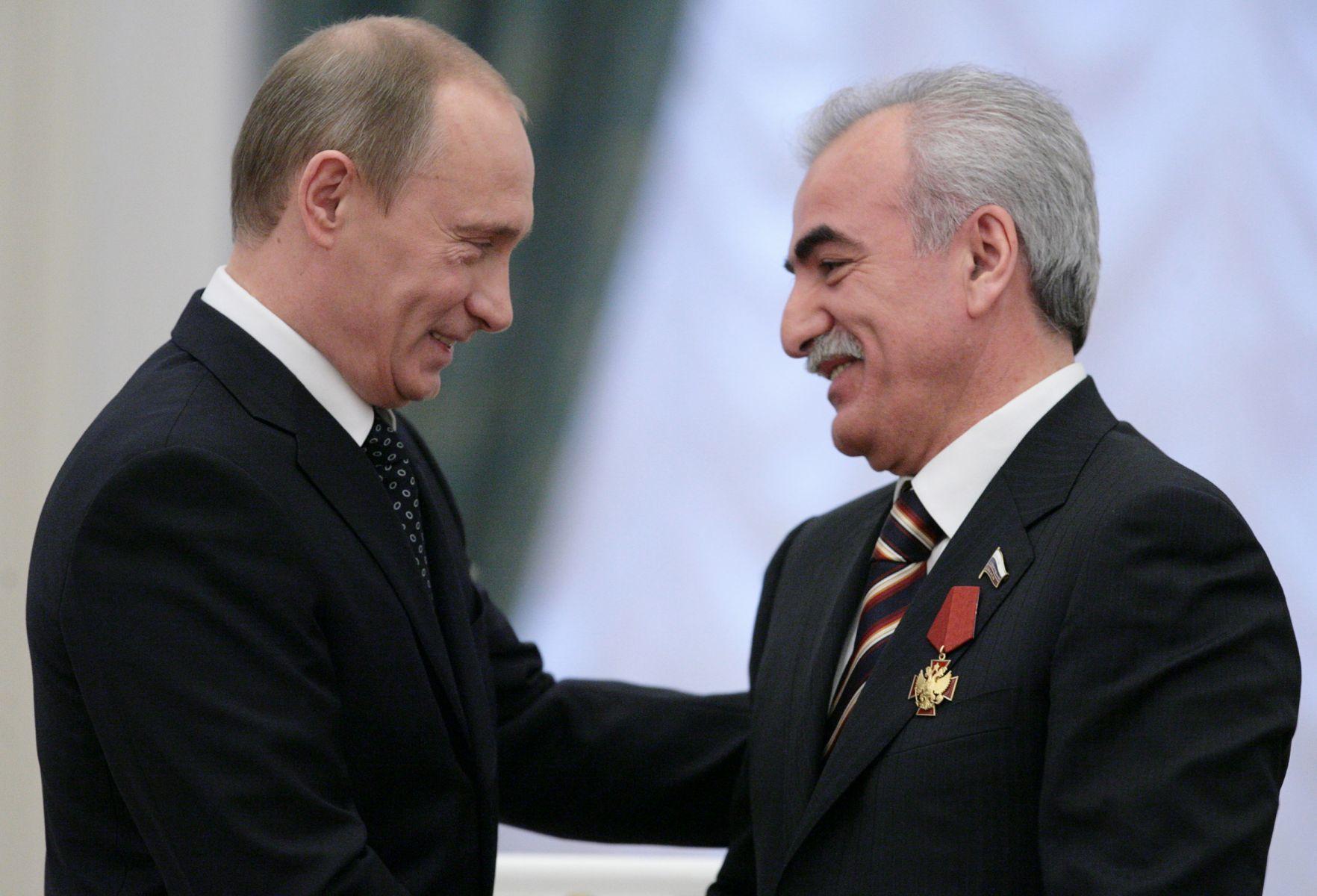 Саввиди и Путин