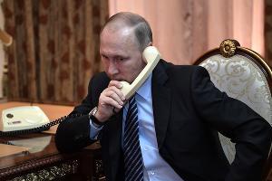 Владимир Путин ©Фото пресс-службы Кремля
