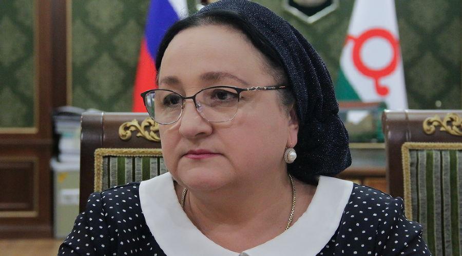 Зарема Льянова ©Фото пресс-службы правительства Ингушетии