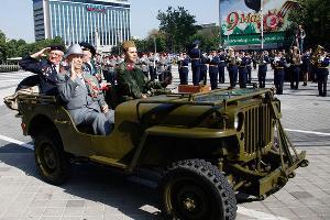 Парад Победы в Краснода ©Влад Александров. ЮГА.ру