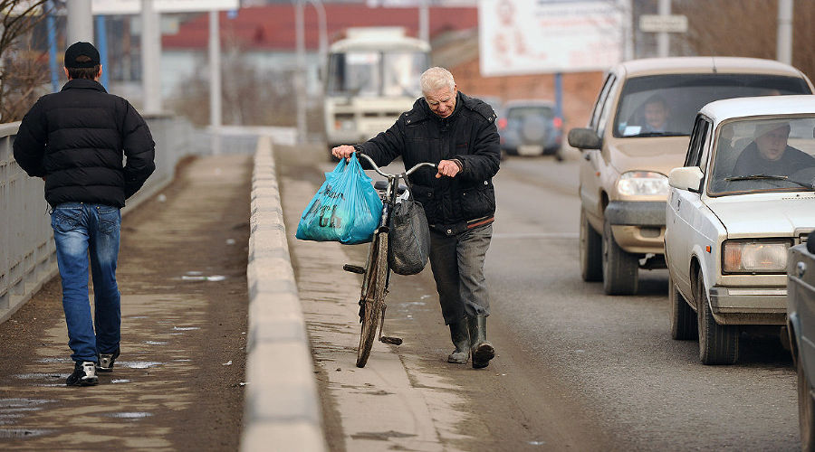Яблоновский мост на въезде в Краснодар ©Фото Юга.ру