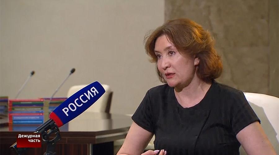 Елена Хахалева ©Кадр видео канала «Россия24» на youtube.com, youtube.com/Russia24TV