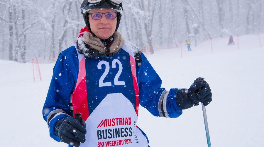 Торгпред Австрии Рудольф Лукавски ©Изображение пресс-службы курорта «Роза Хутор»