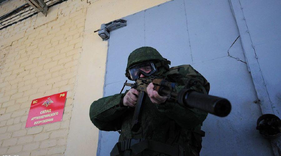 Военная часть спецназначения  ©Елена Синеок. ЮГА.ру