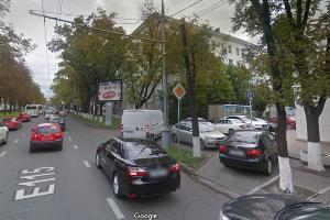 Пересечение улицы Красной и переулка Курганного в Краснодаре ©Скриншот страницы сайта www.google.com/maps