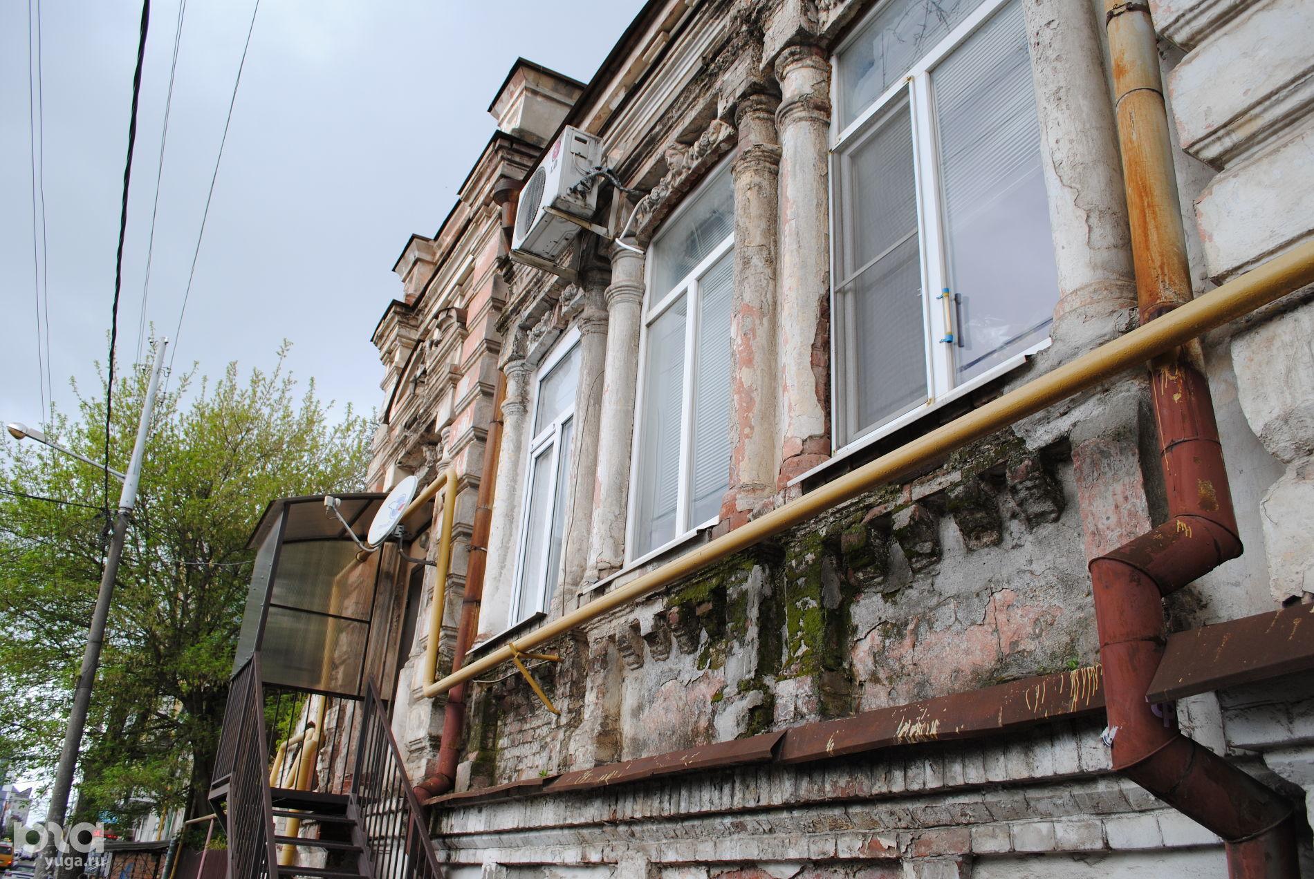 Карасунская, 93. Дом жилой, 1905 г. ©Фото Виктора Дерезы, Юга.ру