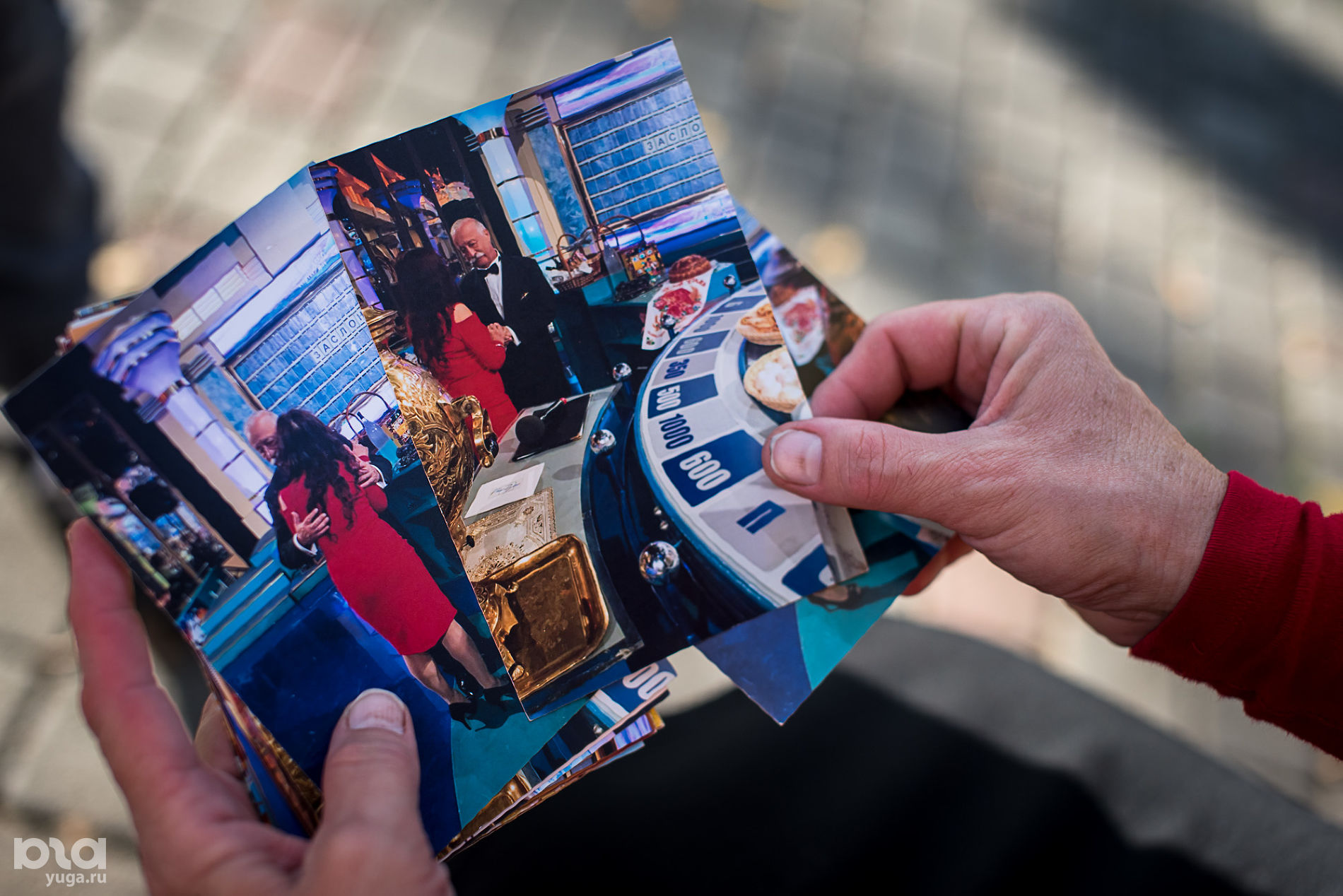 На съемках «Поле чудес» ©Фото Елены Синеок, Юга.ру