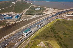 Запуск движения по Крымскому мосту ©Фото Виталия Тимкива, Юга.ру