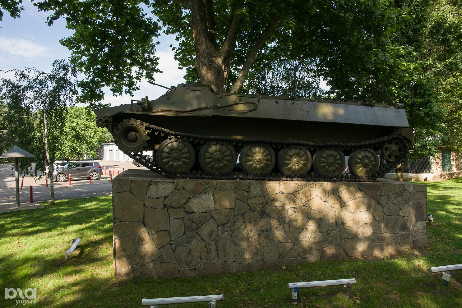 Памятник Защитникам Отечества, территория КубГАУ ©Фото Евгения Мельченко, Юга.ру
