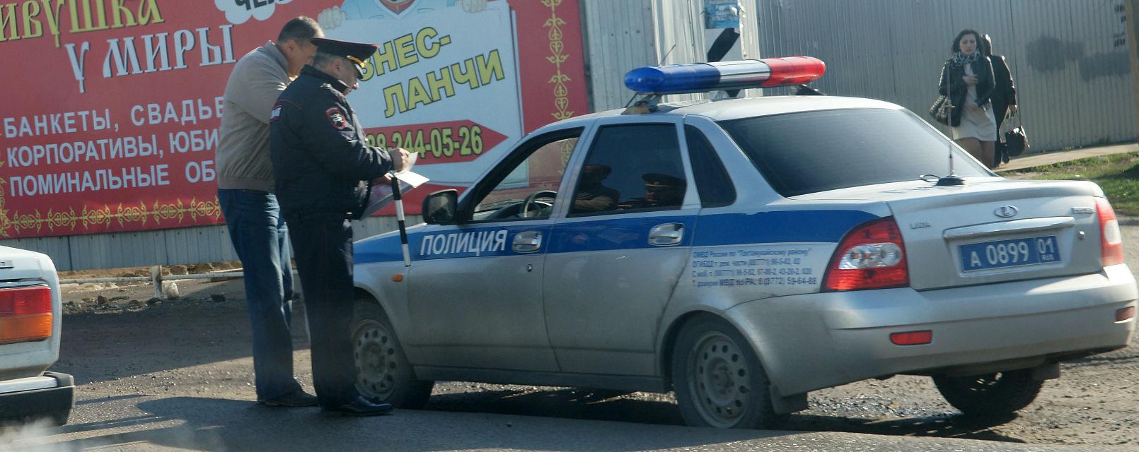 Всех посторонних «попросят» с места происшествия ©© Фото Евгения Мельченко, Юга.ру