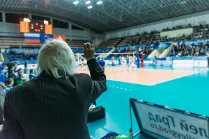 Волейболистки краснодарского «Динамо» проиграли швейцарскому «Волеро» в стартовом матче Лиги чемпионов ©Евгений Резник, Юга.ру