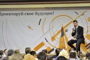 2011 год в фотографиях. Михаил Прохоров встретился с журналистами ©http://www.yuga.ru/photo/865.html