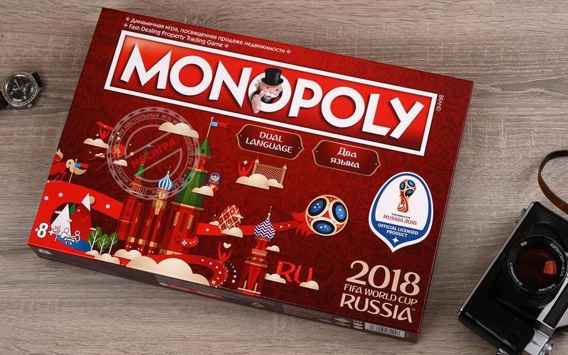 «Монополия FIFA 2018» ©Фото с сайта mosigra.ru