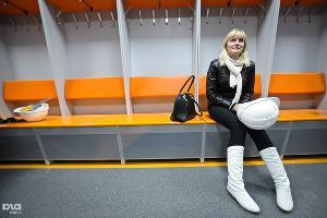 """Раздевалка спортсменов в Ледовой арене """"Шайба"""" ©Елена Синеок, ЮГА.ру"""