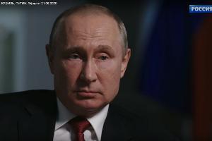 ©Скриншот интервью Владимира Путина из фильма «Россия. Кремль. Путин» с сайта russia.tv