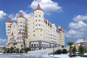 Замок-отель «Богатырь» в «Сочи Парке» ©Фото пресс-службы «Сочи Парка»