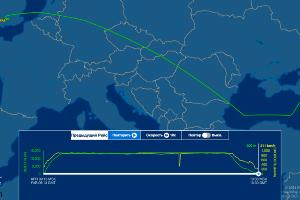 ©Скриншот с сайта flightaware.com